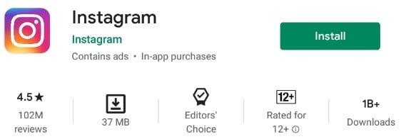 Reel Instagram App