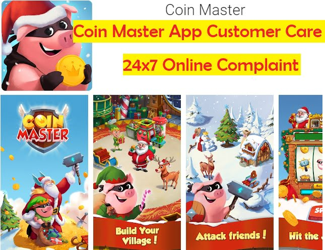 Coin Master Game App Customer Care
