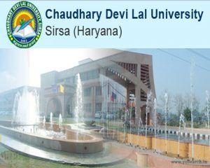 Chaudhary Devi Lal University (CDLU) J