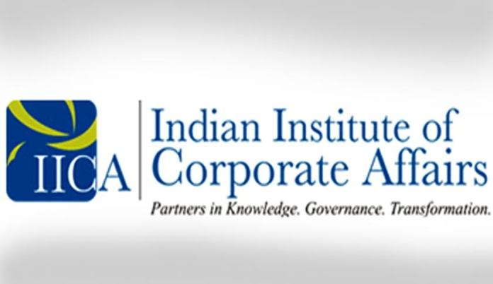 Indian Institute of Corporate Affairs (IICA) Notification