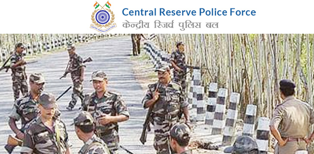 Central Reserve Police Force (CRPF) Jobs for 139 Constable Post