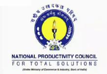 National Productivity Council (NPC) Delhi Recruitment 2019