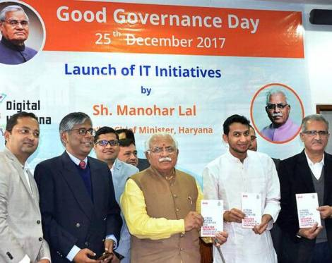 Haryana Government Launches Seven IT Based e-services in State