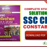SSC CPO Constable Complete Study