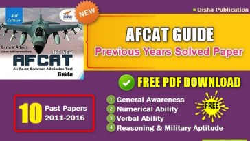 AFCAT Guide with Previous Years Solved Paper Pdf