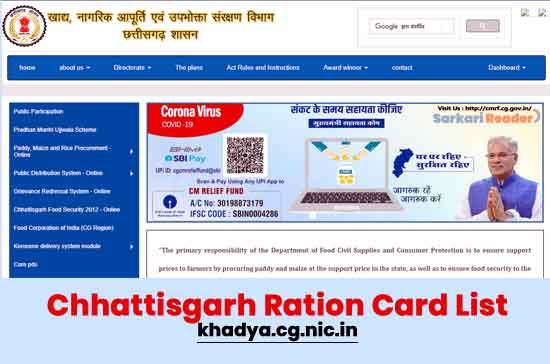 Chhattisgarh-Ration-Card-List