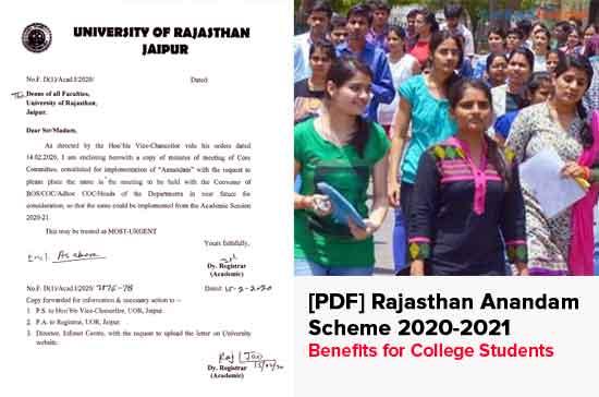 Rajasthan-Anandam-Scheme-2020-2021
