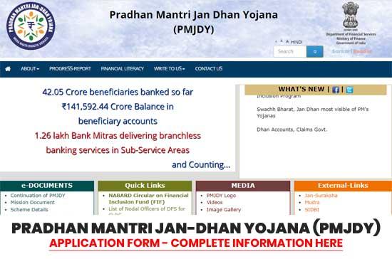 Pradhan-Mantri-Jan-Dhan-Yojana-(PMJDY)-Scheme