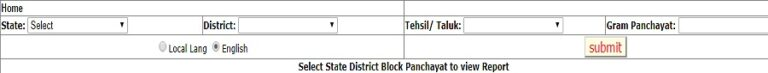 मनरेगा अभिसरण योजना सूची SECC 2011 डेटा