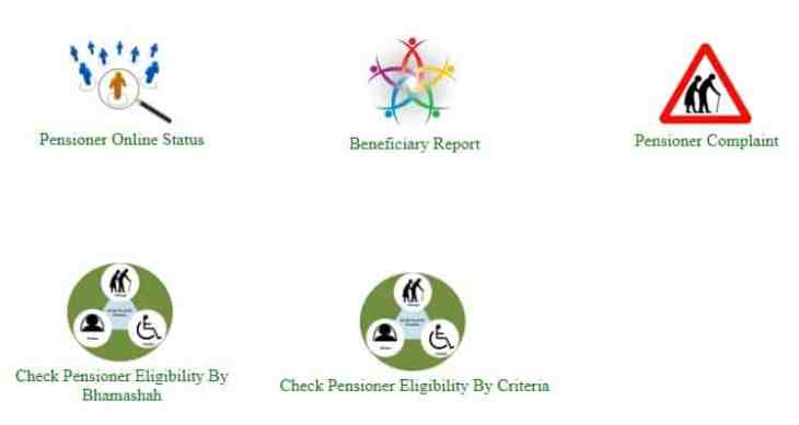 Rajasthan Old Age Pensioner Online Status Eligibility Beneficiary Report