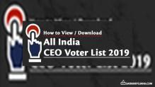 उत्तराखंड वोटर कार्ड लिस्ट 2019 – CEO Uttarakhand Voter ID Card List PDF (District Wise) Search Name