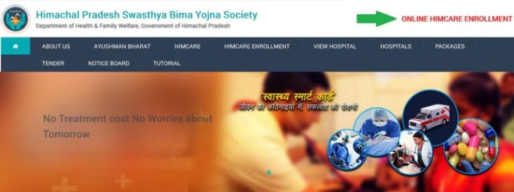 Him Care Online Registration Health Card