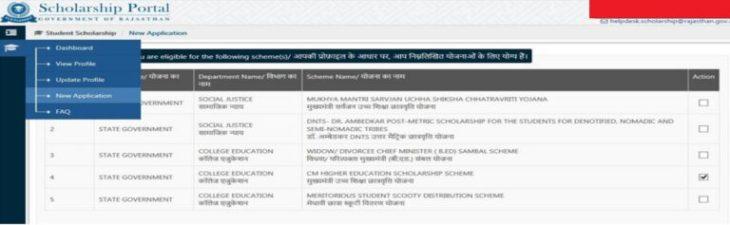 Meritorious Student Scooty Distribution Scheme Rajasthan