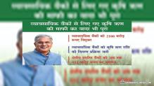 Chhattisgarh Farm Loan Waiver Scheme Phase II – Rs. 2100 cr Commercial Banks Debt Waived Off