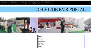 Delhi Job Fair Portal Online Registration Form 2020 (Jobseekers) – Upcoming Rojgar Mela List