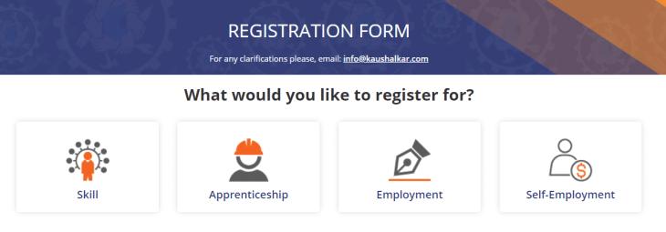 Koushalya Karnataka Registration Form Aspirant