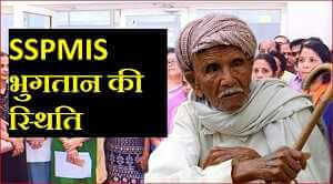 SSPMIS भुगतान की स्थिति
