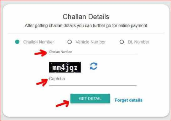 UP Traffic Police Challan Online Payment