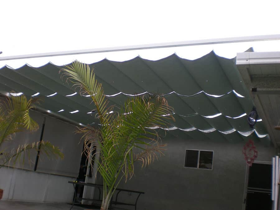 Slide Wire Awning