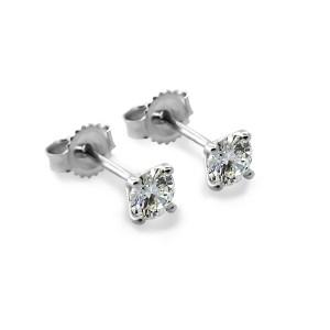 Diamond Stud earrings -1-1