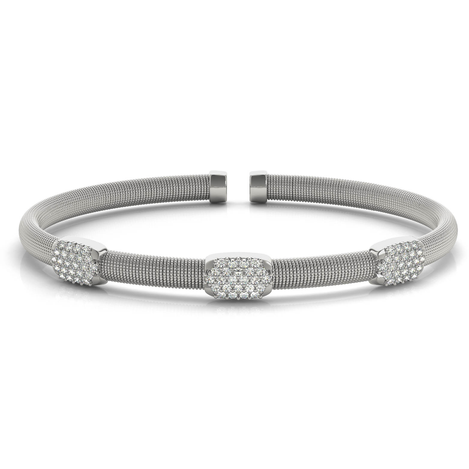 silver twist product diamond jewelry design bangles bracelet sterling watches cut bangle mondevio