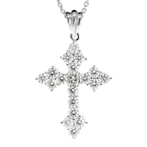 Diamond Cross Pendant PN549-4