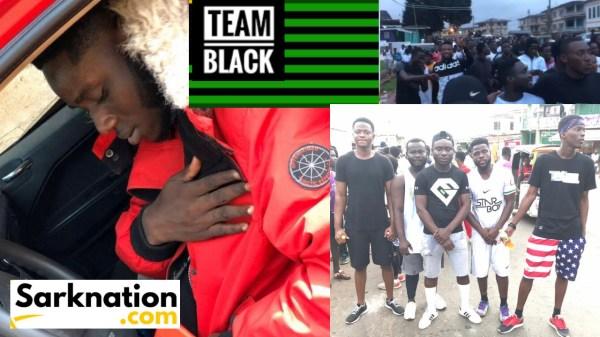 Cantus Black Team Black Health Walk