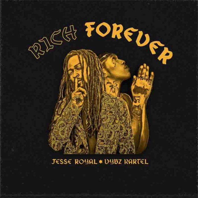 Download MP3: Vybz Kartel - Rich Forever ft Jesse Royal