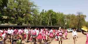 Bolgatanga – Sherigu Community Day SHS students demonstrate over inadequate learning materials