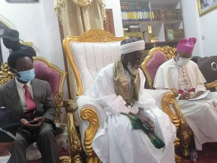 The National Chief Imam, Sheikh Osman Nuhu Sharubutu has contributed GHC 50,000 to the National Cathedral project.
