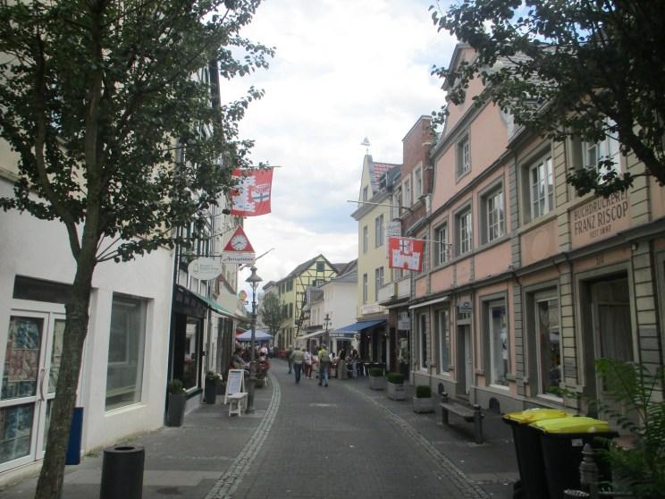Laneway in Konigswinter