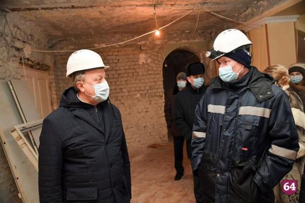 Губернатор отметил масштаб реконструкции театра оперы и ...