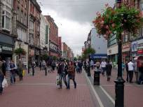 Pedestrianised Grafton Street