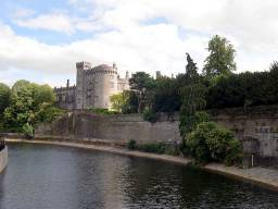 Castle seen from nearby River Nore