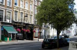 THE CLEVELAND ARMS opposite Cleveland Square