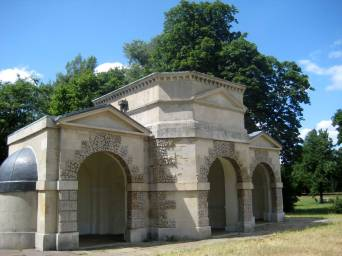 Queens temple, a summerhouse 1734-35