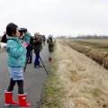 【報告】 なまら!!サロベツ∞クラブ 「春の渡り鳥観察会」