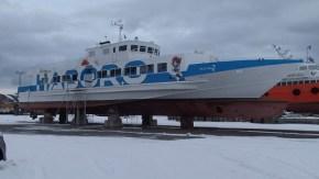 羽幌の高速船が稚内にいました