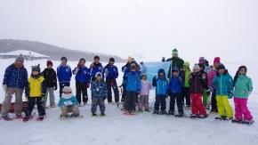 【報告】クッチャロ湖氷上ウォーキング&雪像づくりに参加しました。