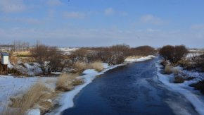 【お知らせ】サロベツ川の雪解け2019