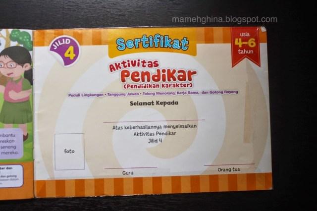 sertifikat pendikar