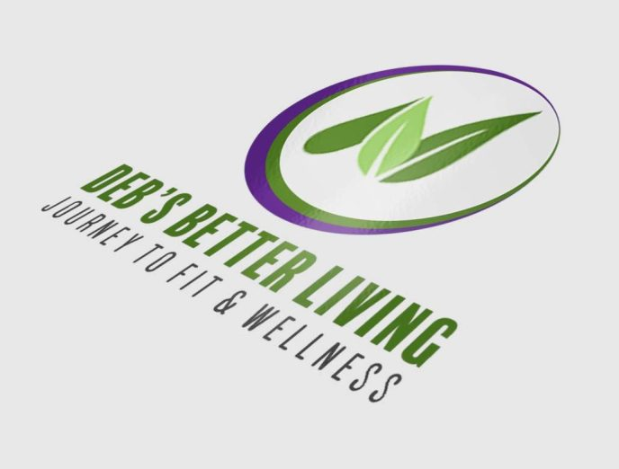 Logo Design by Sarrie Creatives for Deb's Better Living