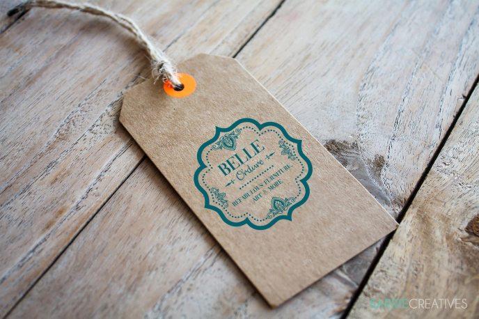 Business Card Hang Tag