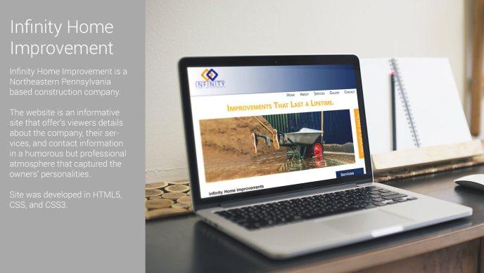 sarrie creatives infinity website development