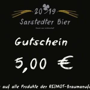 Sarstedter Bier Gutschein