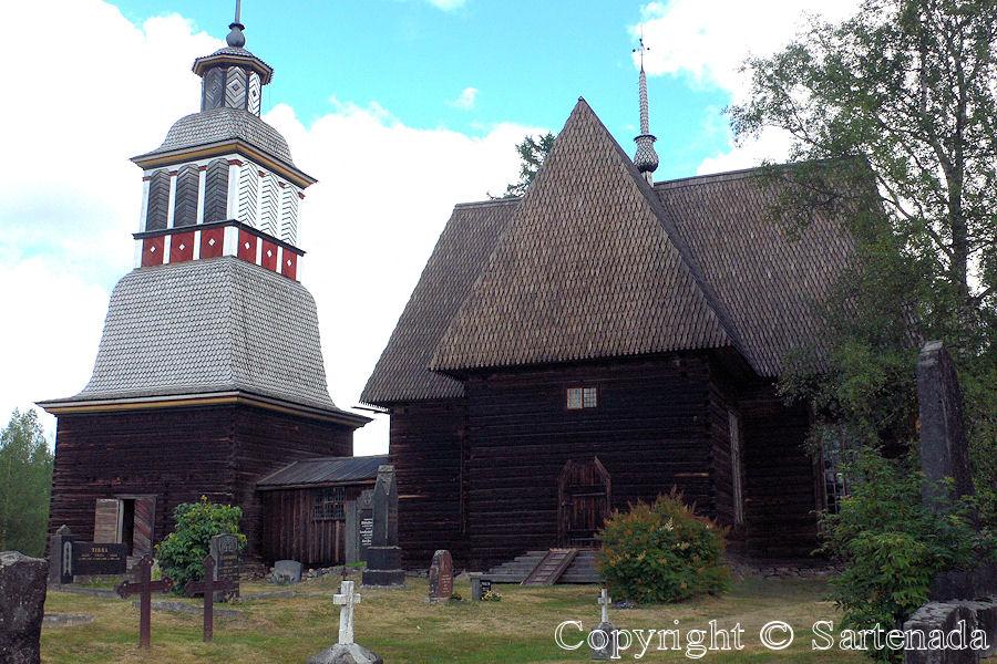 Old wooden church of Petäjävesi