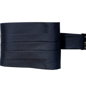 Blue Super 150's cummerbund