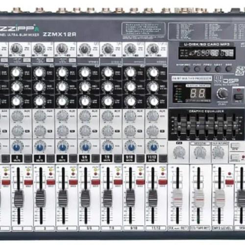 Mixer Professionale 12 canali multieffetto