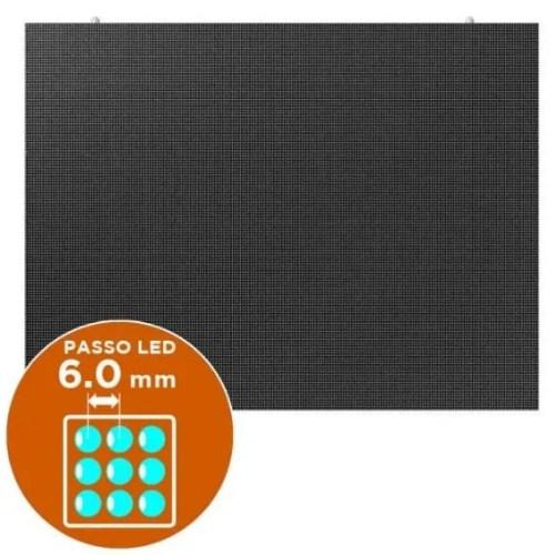 Led Wall per esterni passo 6.0