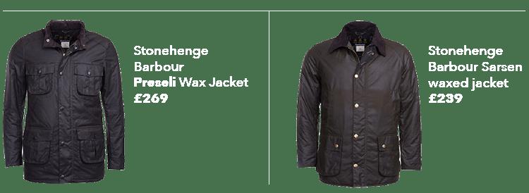 Barbour X Stonehenge jackets copy